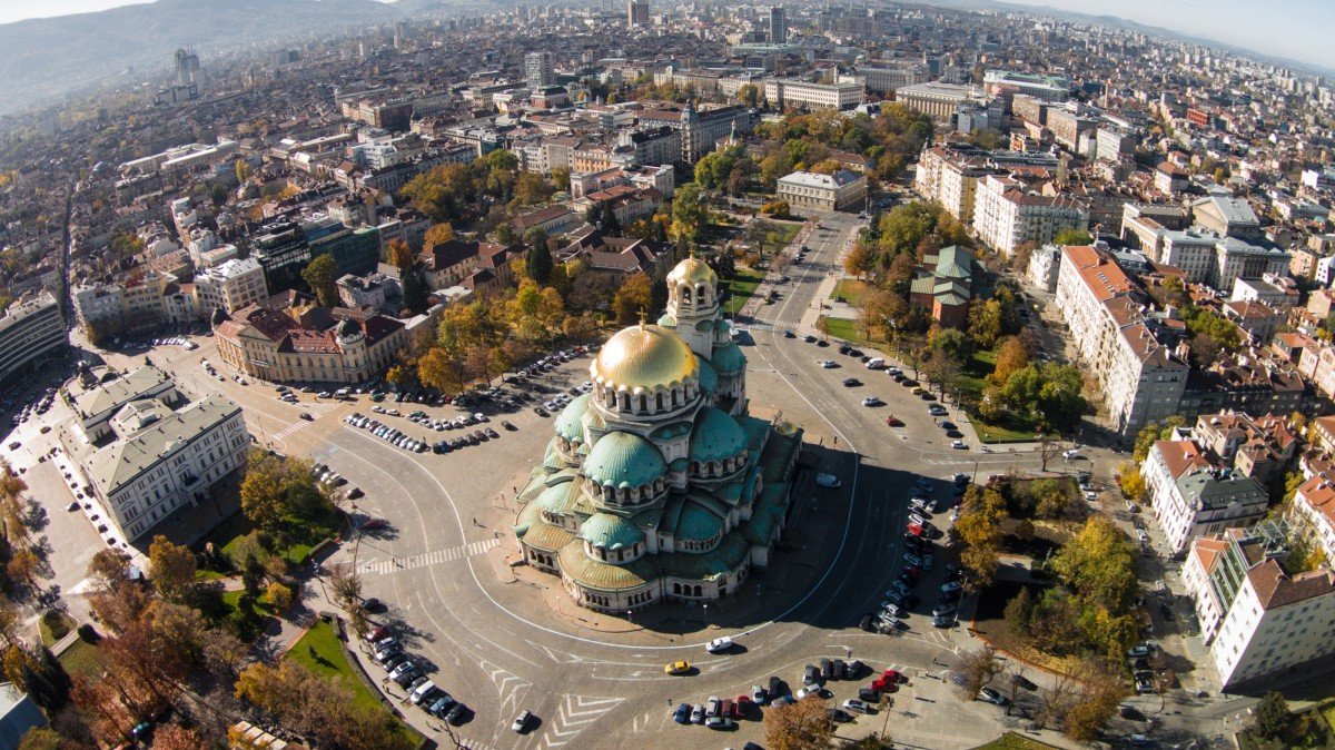 Cathedral Saint Alexandar Nevski in Sofia, Bulgaria.